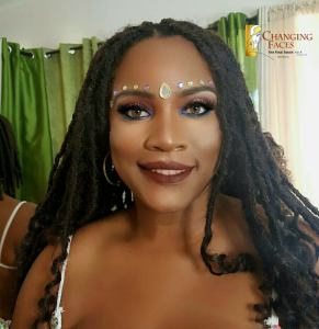 Trinidad Carnival Makeup Port of Spain Marissa Teachable Moments