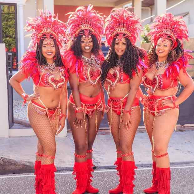 Trinidad Carnival Tribe Costume Masquerade
