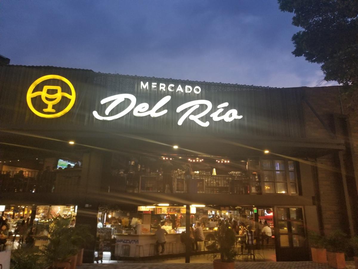 Mercado Del Rio Medellin Colombia