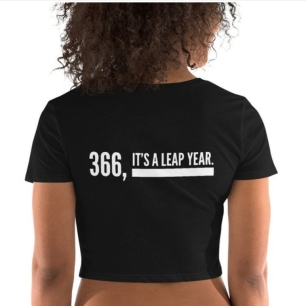 366 crop tee